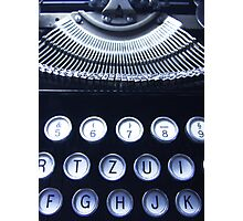 Kezboard Photographic Print