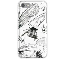 Insect page iPhone Case/Skin