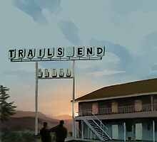 Trails End by awabubbles