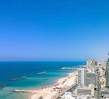 Aerial view of Tel Aviv, Israel by PhotoStock-Isra