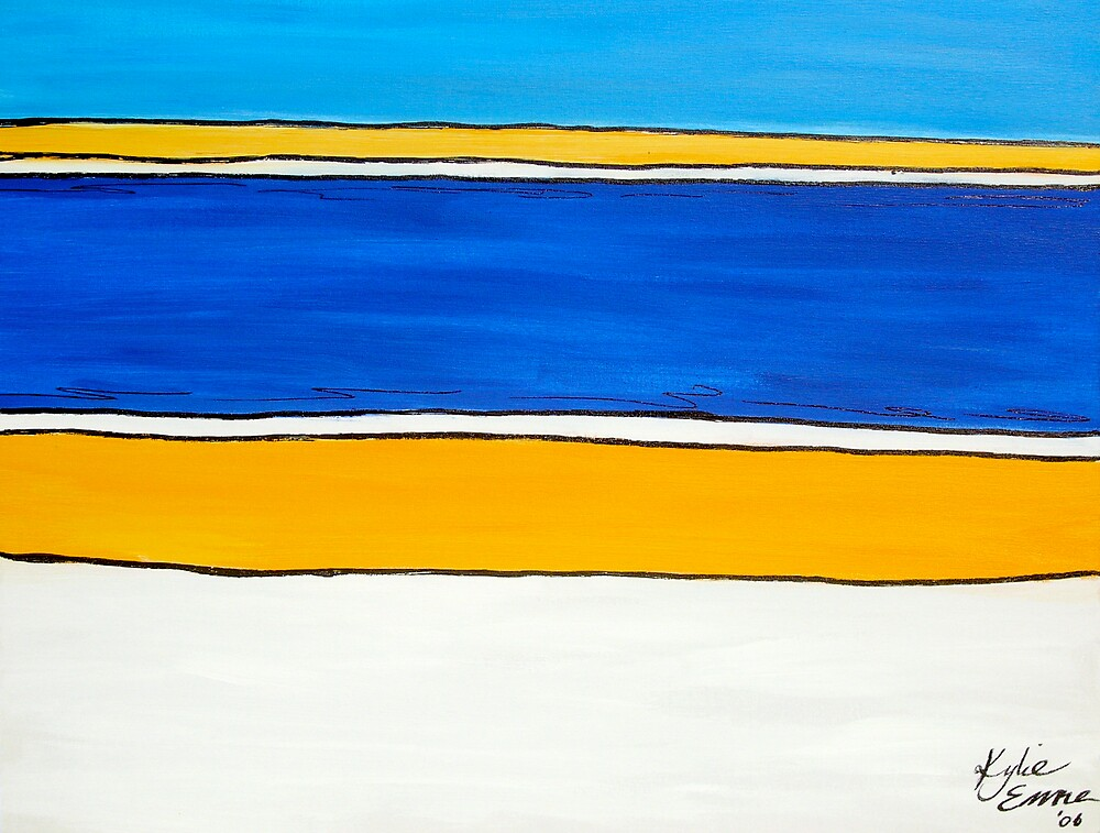 Beach by Kylie Blakemore