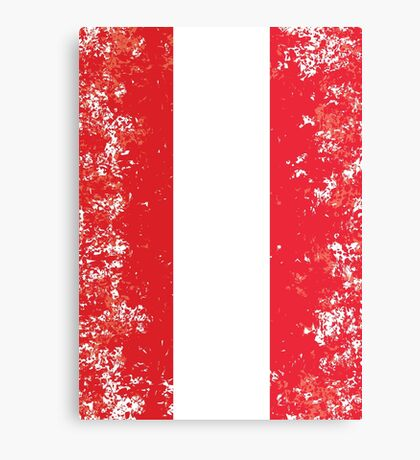Flag of Austria Canvas Print