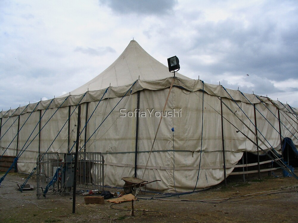 OLD CIRCUS TENT by SofiaYoushi