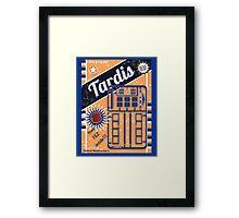 TIMELORDS GADGET VINTAGE Framed Print