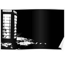 Phonebox comicbook sketch Poster