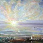 Bay Sunset by Lolita Dickinson