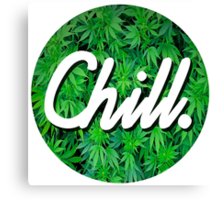 Chill Circle 2 Canvas Print