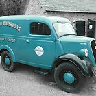 Ford E83W Van British Waterways by Mark Wilson