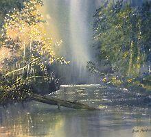 """""""Dawn on the Derwent"""" by Glenn  Marshall"""
