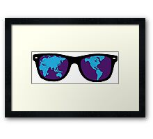 See the World Framed Print