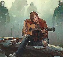 Ellie Playing the Guitar - TLOU by peetamark