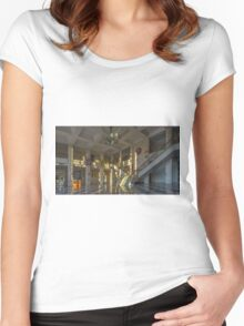 BACOLOD CITY - PANORAMA Women's Fitted Scoop T-Shirt