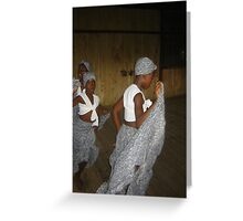 Tribal Dance Greeting Card
