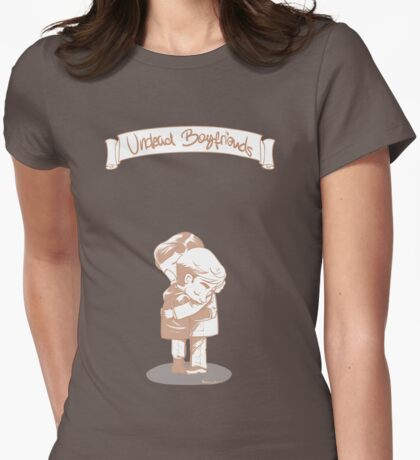 Undead boyfriends Womens Fitted T-Shirt