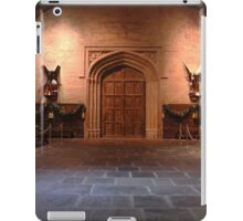 The great hall at Hogwarts  iPad Case/Skin
