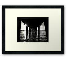 The Pier... Framed Print
