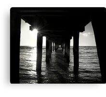 The Pier... Canvas Print