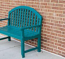 green bench by carolyn taylor