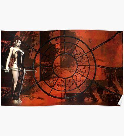 Blood Red - Rose & Paul Alleyne Poster