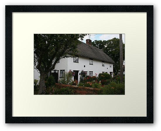 Thatched House Finchingfield by Larry149