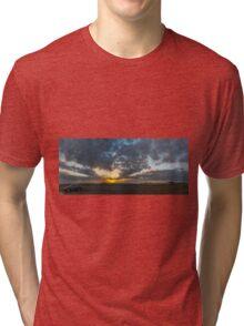 SUNSET - PANORAMA Tri-blend T-Shirt