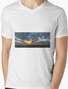 SUNSET - PANORAMA Mens V-Neck T-Shirt