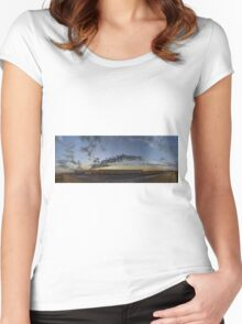 KAUST - PANORAMA Women's Fitted Scoop T-Shirt