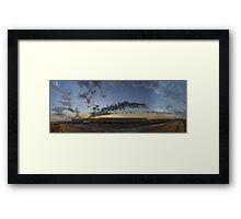 KAUST - PANORAMA Framed Print