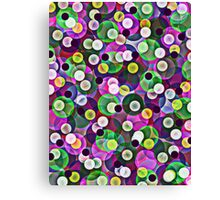 Glass Marbles Canvas Print