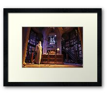 A wise old wizard, Albus Dumbledore Framed Print
