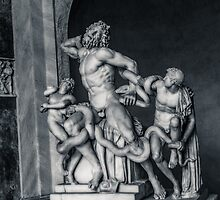 Laocoon and His Sons by Andrea Mazzocchetti