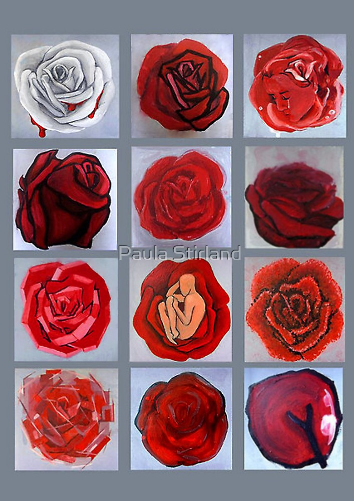 Art movement roses by Paula Stirland