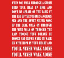You'll Never Walk Alone - WHITE by Graham Lawrence