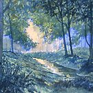 """Evening in Wykeham Forest"" by Glenn  Marshall"
