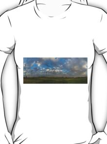 FOOTBALL FIELD - PANORAMA T-Shirt