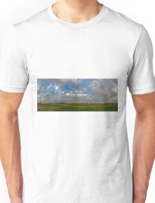 FOOTBALL FIELD - PANORAMA Unisex T-Shirt
