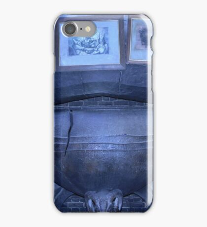 Hagrid's cauldron iPhone Case/Skin