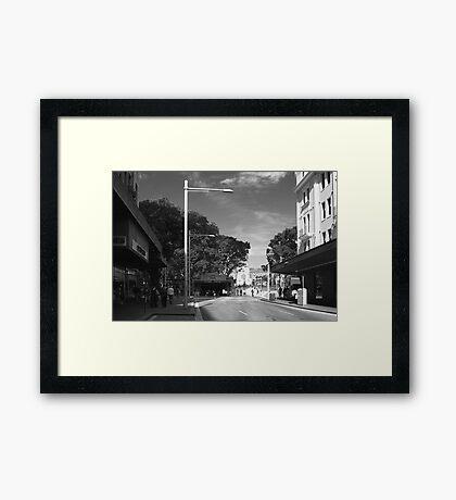 St James Station - Sydney Framed Print