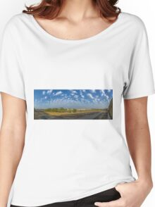 KAUST - PANORAMA Women's Relaxed Fit T-Shirt