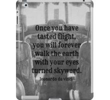 Da Vinci Flight iPad Case/Skin
