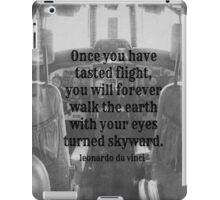 Da Vinci Flight iPad Case/Skin