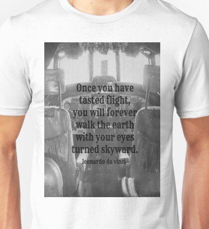 Da Vinci Flight Unisex T-Shirt