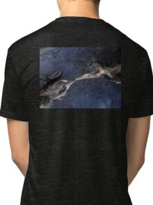The death kiss of two birds Tri-blend T-Shirt
