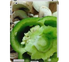 Mushrooms and Peppers iPad Case/Skin