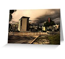 Urban Storm Greeting Card