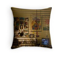 Workspace Throw Pillow