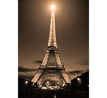 Midnight in Paris Photographic Print