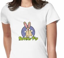 Bunny Fu Womens Fitted T-Shirt