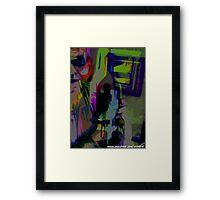 wins eye  Framed Print