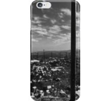 The World Behind Military Bars iPhone Case/Skin